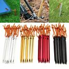 LOT Aluminum 7075 Alloy Tent Stake Pegs 7 18cm Ultralight Outdoor Tent Pegs MA