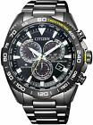 Citizen Promaster Eco-Drive Cb5037-84E Solar Radio Mens Watch In Box New