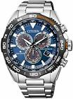 Citizen Promaster Land Cb5034-82L Eco-Drive Solar Radio Mens Watch In Box New