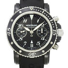 MONTBLANC Meisterstuck Sports Chronograph Black Dial 7044 Mens 90045919