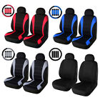 Front Rear Full Set Auto Car Seat Covers Fit Most Car Truck Suv Van Universal