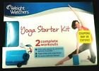 Weight Watchers Yoga Starter Kit 2 Complete Workouts with DVD + Extras New