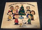 Peanuts Snoopy Christmas Rubber Stamp Peanuts Gang Caroling Stampabilities 2002