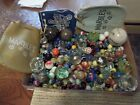 380 VINTAGE MARBLES, GERMAN, SULPHIDE, AKRO, PELTIER AND MANY MORE