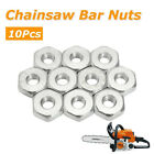 FA- 10Pcs Guide Bar Sprocket Cover Nuts For Stihl Chainsaws Solo Chain Saws Eage
