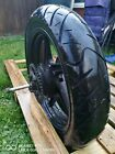 Honda CBR 125R 2012 Rear wheel with tyres
