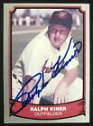 1988 Pacific Ralph Kiner Indians #9 Signed Baseball Card NM-MT AUTO DJR COA