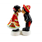 Essence of Europe Gifts Mexican Kissing Couple Salt and Pepper Shakers
