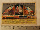 VINTAGE POST CARD TREASURE ISLAND GGIE EXPO STORY WEST P G AND E EXHIBIT