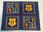 Harry Potter Pillow Panels 2001 Original Release Out Of Print