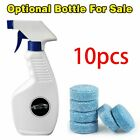 Car Solid Wiper Glass Cleaner Car Windshield Glass Cleaner With Bottle Blue 5x N