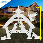 EasyGo Large Outdoor Nativity Scene Large Christmas Yard Decoration Set
