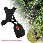 For Brush Cutter Trimmer Strimmer Padded Belt Double Shoulder Harness Strap