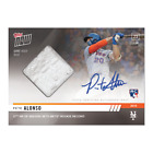 2019 Topps NOW 422A Pete Alonso RC Mets Auto & Base Relic # 99