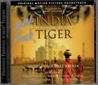 INDIA: KINGDOM OF THE TIGER Michael Brook CD Soundtrack AUTOGRAPHED Signed OOP!