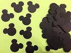 125 Disney Mickey Mouse 1 inch head Die Cuts punches Confetti