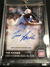 2016 Topps NOW OS46B Tim Raines Auto 26 99 Elected to Hall Of Fame