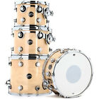 DW Drum Workshop Performance Series 4 Piece Tom Snare Shell Pack Natural Lacquer