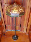 Handel Wavey Palm floor lamp missionarts and crafts