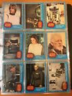 STAR WARS EMPIRE STRIKES BACK JEDI TOPPS COMPLETE CARD SET STICKERS BOX 1977 LOT