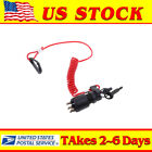 OEM Ignition Switch  Lanyard 5005801 175974 For OMC BRP Johnson Outboard Motor