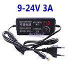Adjustable Ac To Dc3-12v 9-24v Regulated Adapter Power Supply Adapter Euus Plug