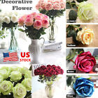5 10 20Pcs Velvet Rose Flower Wedding Home Artificial Flowers DIY Bridal Bouquet