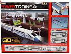 Kids Toys Gift Power Trains Motorized Deluxe City Train Set with 30+ Feet Track