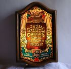 Vtg Old Style Beer Lighted Sign Heileman Naturally Carbonated Man Cave Bar Light