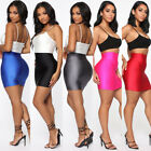 Women Casual High Waist Skirt Short Bodycon Stretchy Mini Skirt Pencil Skirts