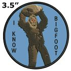 Bigfoot Lives Patch - Sasquatch in the Forest (Iron on) I BELIEVE - I KNOW