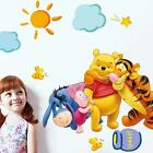 Winnie the Pooh Nursery Room Wall Decal Decor Stickers For Kids Baby Stickers