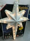 Empire Giant 39 Nativity Lighted Star Blow Mold Christmas Display with Box