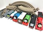 Thomas Trackmaster ENGINES & TAN TRACKS Motorized Trains 32 Pc Lot James Diesel