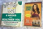 JILLIAN MICHAELS Biggest Loser Book  Dvd Lot NEW