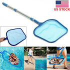 Swimming Pool Net Leaf Rake Mesh Skimmer With Telescopic Pole Pools And Spas USA