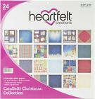 Heartfelt Creations Double Sided Paper Pad 12X12 24 Pkg Candlelit Christmas