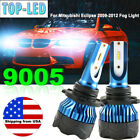 9005 HB3 Car LED CSP Fog Driving Light Bulbs For Mitsubishi Eclipse 2009 2012 US