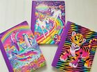 Lisa Frank Retro Glitter Composition Notebook 100 Sheet Wide Buy 2+ and Save