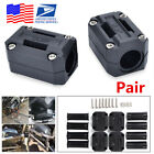 Pair 22/25/28mm Universal Motorcycle Engine Protect Bumper Dec Guard Block -USA