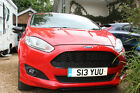 LARGER PHOTOS: FORD FIESTA ZETEC S RED EDITION 43,435m