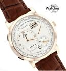 A. Lange & Söhne 116.021 Lange 1 Time Zone Mens Yellow Gold Watch W Box/Papers
