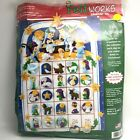 Dimensions Felt Works 8149 Nativity Advent Calendar New Angels Lamb Morehead