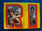 Star Wars 1980 Topps Sticker Card 2 Luke Yoda Yellow Red puzzle Letter R I