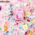 Label Colorful Butterfly Stickers Paper Sticker Scrapbooking Lovely Adhesive