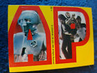 Star Wars 1980 Topps Sticker Card 22 Leia C3PO Yellow Red puzzle Letter A P