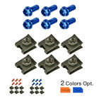Fairing Bolt Nut Fasteners For All Motorcycle with M6 Size Fairing Bolts