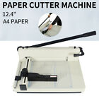 Paper Cutter 124 Width Metal Base Guillotine Page Trimmer for Home office Use