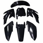 Black Plastic Fender Body Fairing Kit Honda CRF 70 CRF70 CRF70F