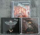 JUDAS PRIEST 5 CD Lot: Nostradamus, Living After Midnight & Angel of Retribution
